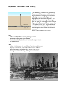 Haynesville Shale and Mineral Leases