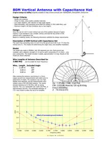 G7FEK Antenna - Construction Guide