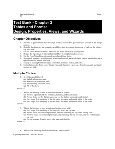 Access IM Test Bank Chapter 2