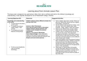 Lesson plan - Countryside Classroom