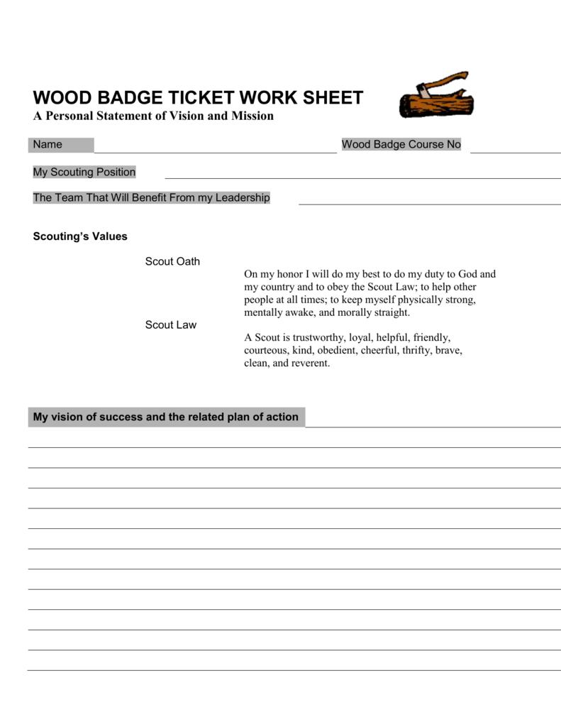 worksheet. Wood Badge Ticket Worksheet. Grass Fedjp Worksheet ...