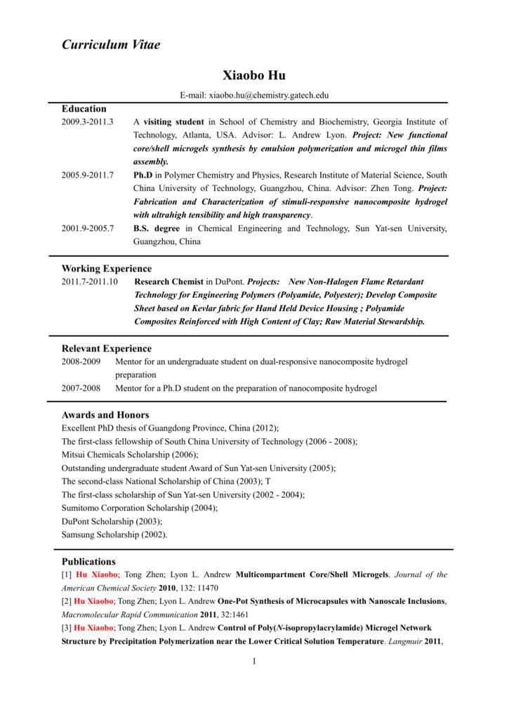 Resume Wordpress Com