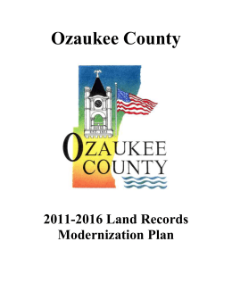 Ozaukee County 2011-2016 - Wisconsin Department of Administration