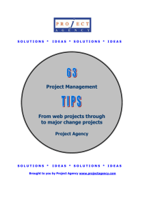 45 Tips for Effectively Delivering your Project