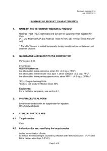 Vm - Veterinary Medicines Directorate