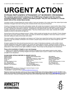 URGENT ACTION - Amnesty International USA