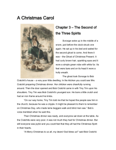 SHORT ANSWER STUDY QUESTIONS A Christmas Carol