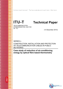 "Technical Paper ""Case study of reduction of air-conditioning"