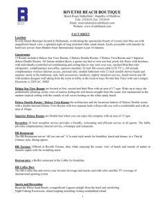 Rivethi Beach Fact Sheet