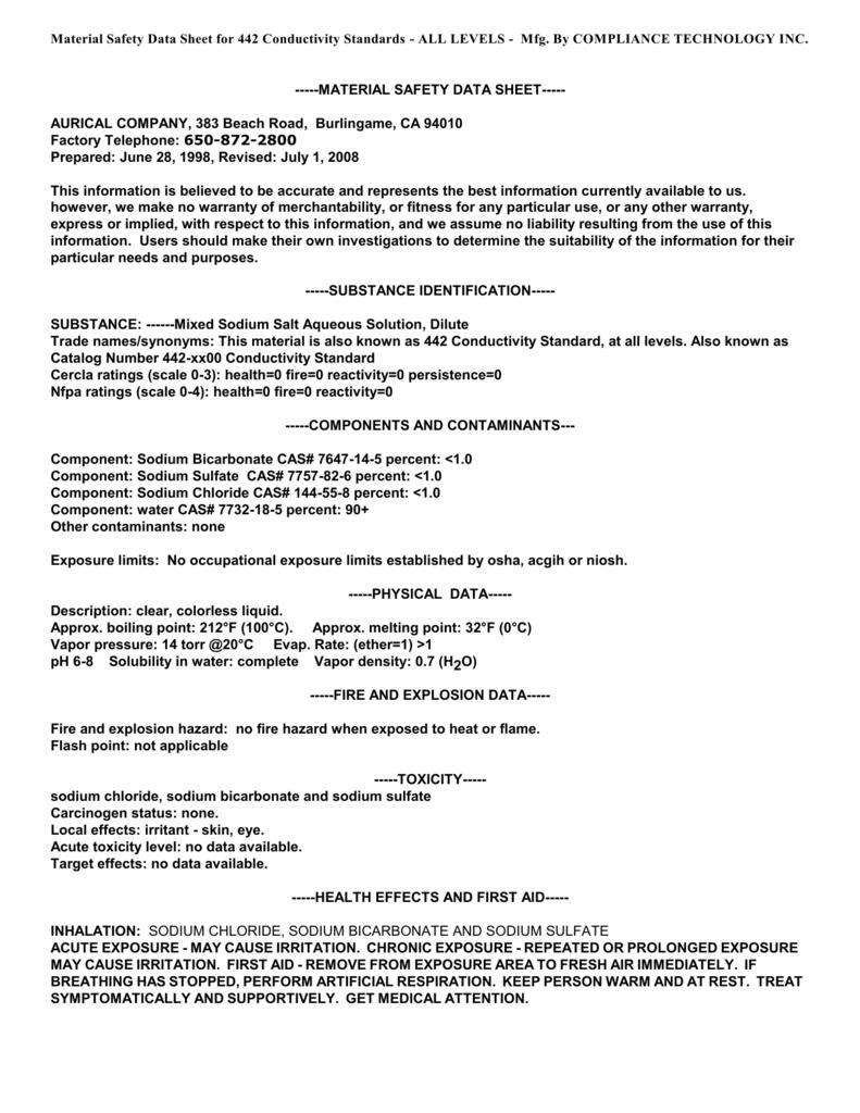 442-Conductivty-TDS Standard