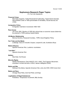 Research Topics with a modern connection