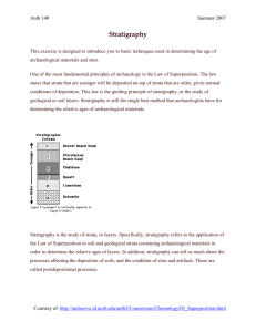 LAB 1 stratigraphy handout
