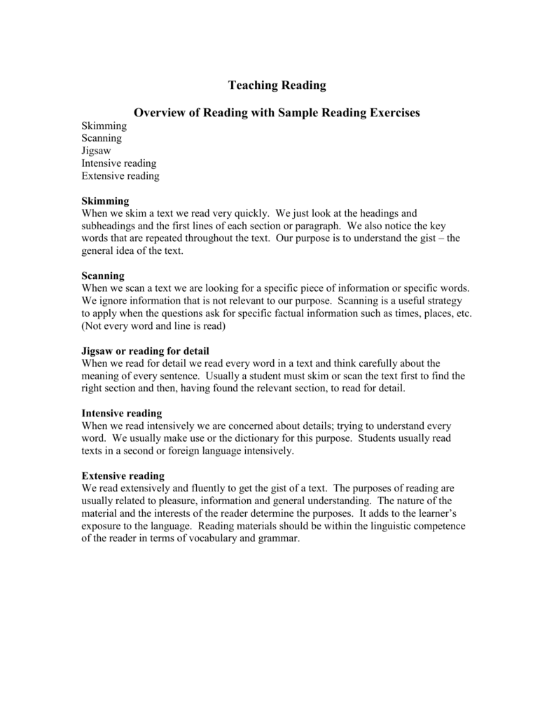 - Tips & Tools For Teaching Reading