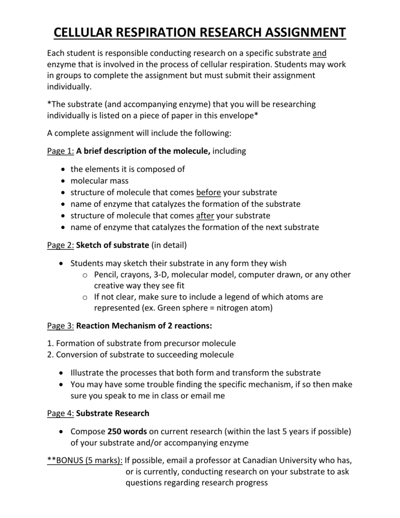 Cellular respiration | Science essays | Essay Sauce Free Student Essay Examples