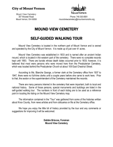 WalkingTour - City of Mount Vernon