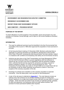copy herewith - Wrexham County Borough Council