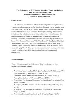 quine 2 dogmas of empiricism pdf