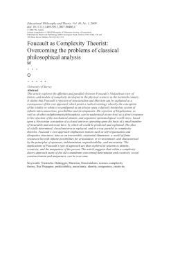 Educational Philosophy and Theory, Vol