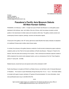Pasadena?s Pacific Asia Museum Debuts All