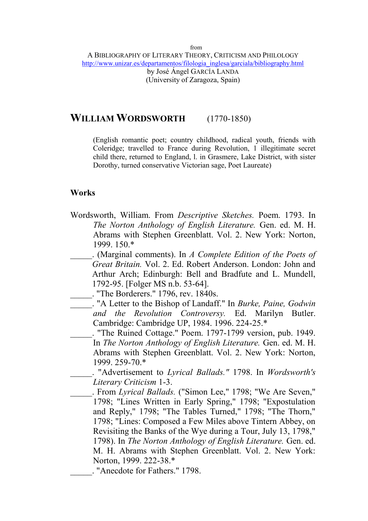 An analysis of english lyrical poet critic and philosopher written with william wordsworth