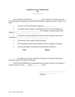 Form 503—General Information (Assumed Name Certificate)