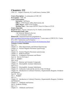 Chem 1211k lab report