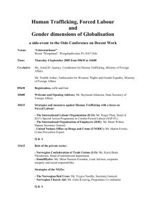 Globalisation – Decent Work and Gender