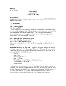 Research Paper - Scarsdale Union Free School District