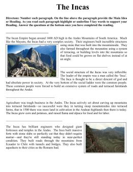 The aztecs civilization essay