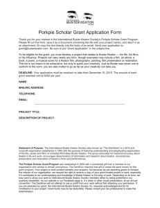 The Porkpie Scholar Grant Program was