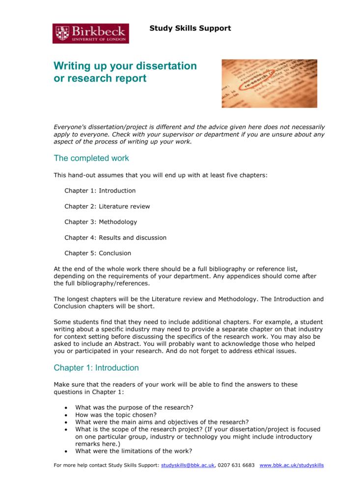 bbk dissertation results