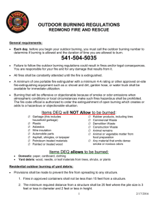 Burning Information - Redmond Fire and Rescue