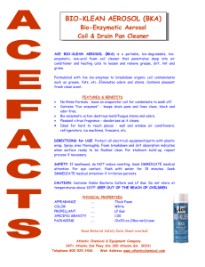 FOAM N CLEAN - Atlantic Chemical