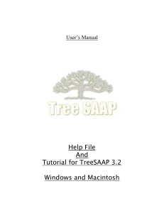 Running TreeSAAP---