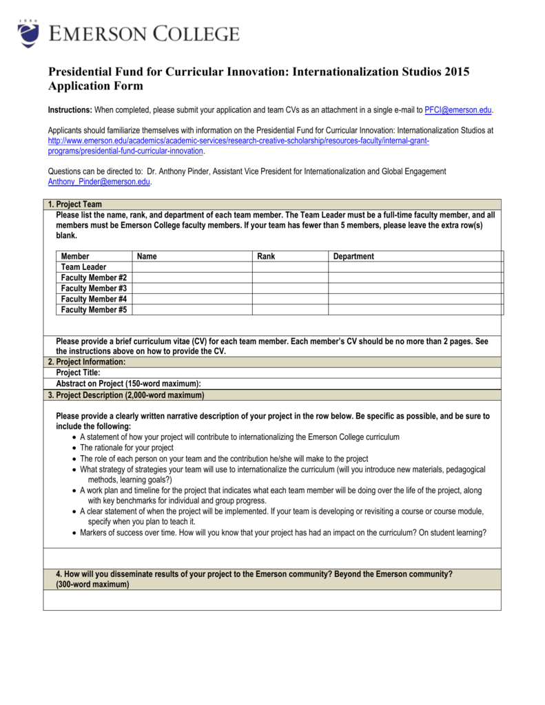 For formal documents, informative
