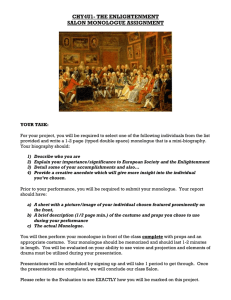 CHW 3M1 – ANCIENT GREECE UNIT CULMINATING PROJECT