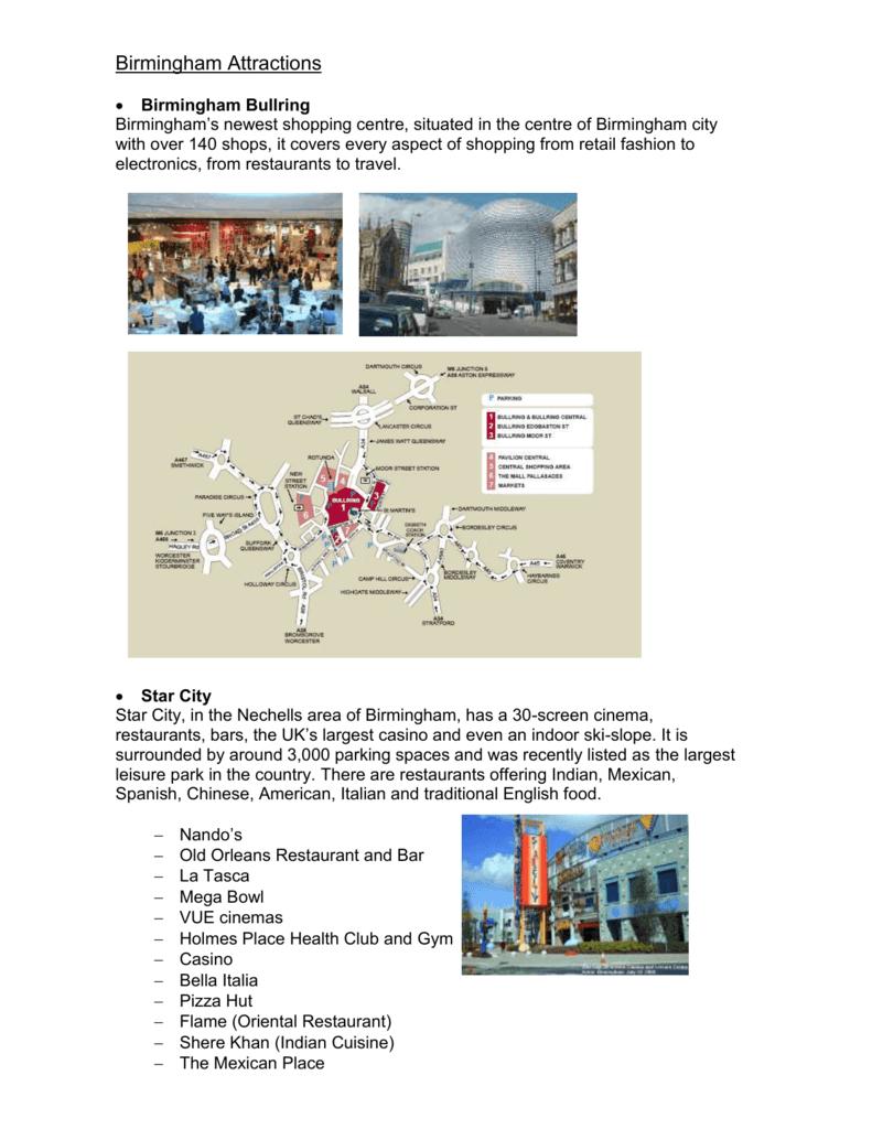 Birmingham Attractions