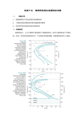 Development of microstructure in ironcarbon alloys analysis of carboniron fefe3c phase diagram 1 experimental ccuart Gallery