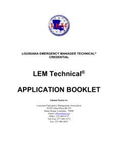 LEM User Guide