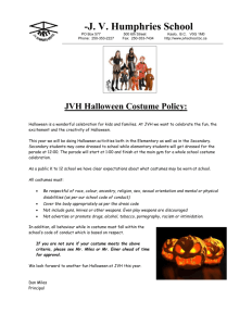 Costume policy