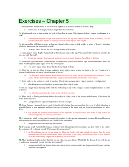 Exercises – Chapter 5