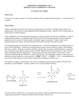 Aspirin overdose case study