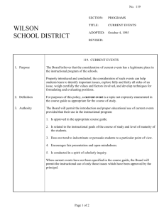 119 - Wilson School District