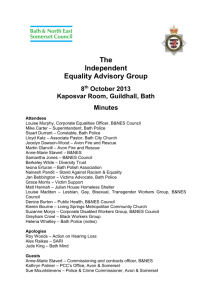IEAG notes of the meeting held on 8th October 2013