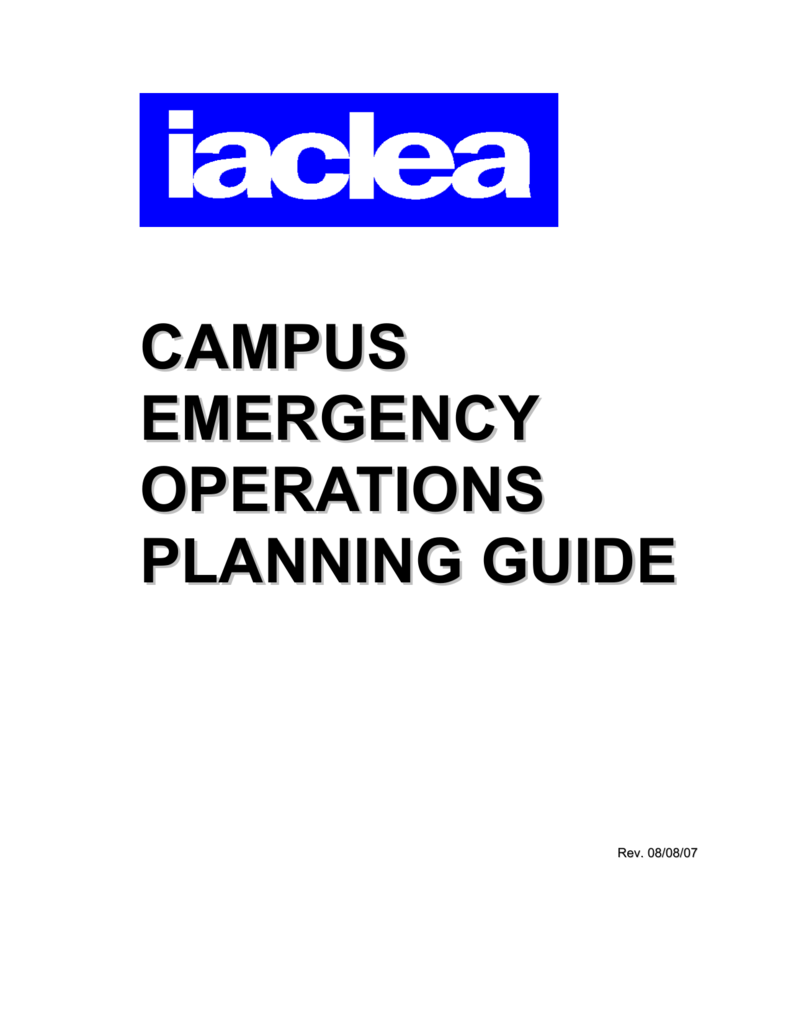 Iaclea Campus Emergency Operations Planning Guide Remington 870 Diagram Http Homesteadfirearmscom Appraisals