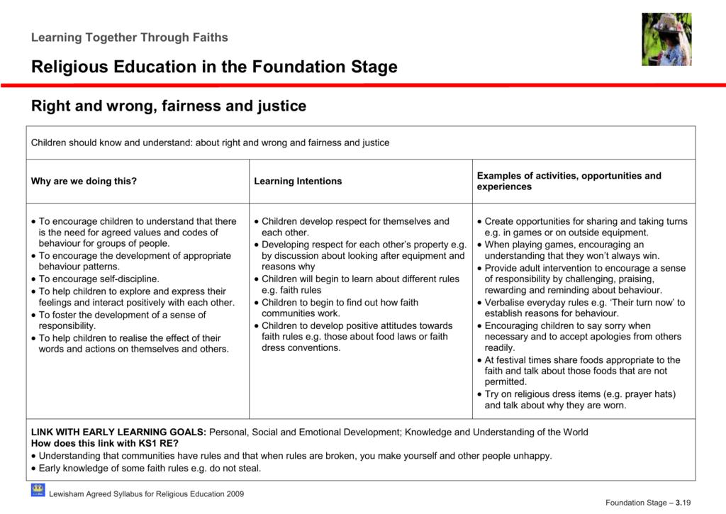 Foundation Stage