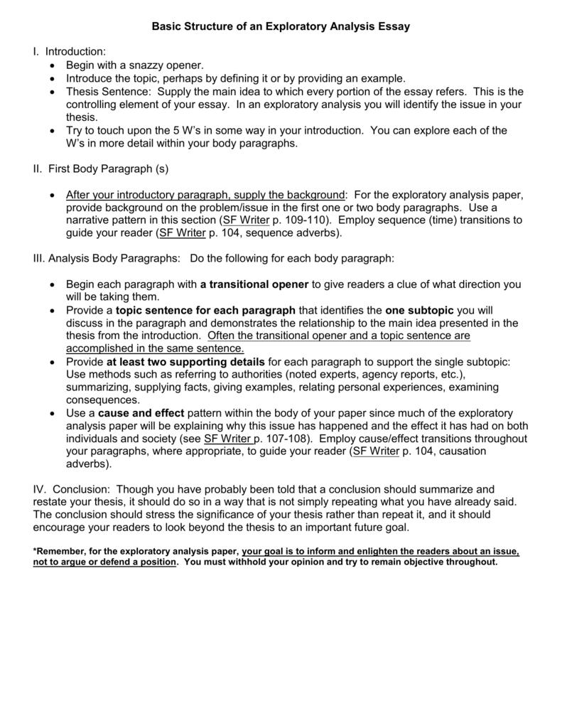 how to write a conclusion for a narrative essay