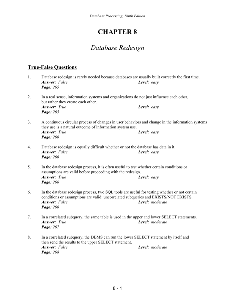 Chapter 8 Review Questions (Word)