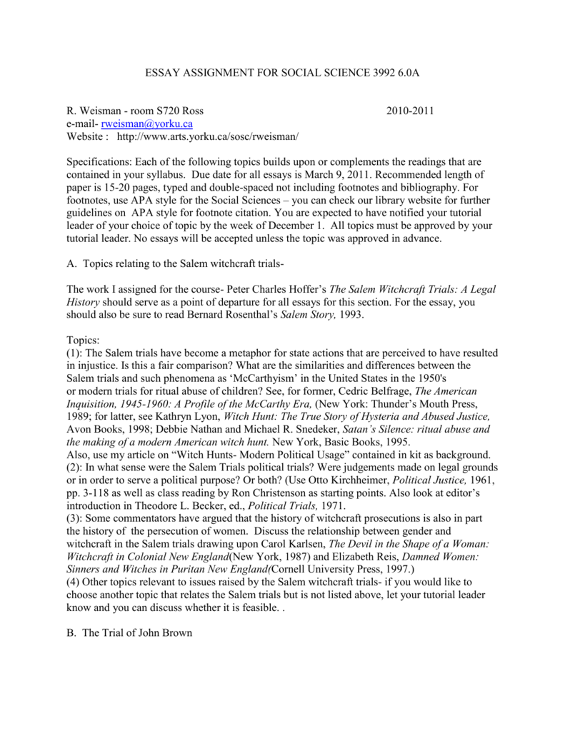 m witch trials essay bowling alone essay recovery officer m witch trials essay descriptive essay on love software 007643017 2 8b3ec3cc802c34a5d9b9287f650a0212 m witch trials essayhtml