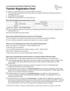 Teacher Registration Form